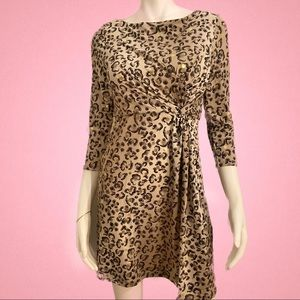 Tracy Negoshian Long Sleeve Dress